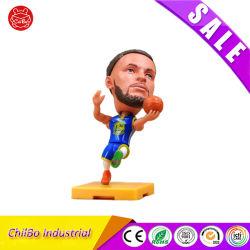 الجملة 3D ميني نموذج Toys دولل البلاستيك مقياس كرة السلة نجمة نمذجة هدايا الترويج للأرقام البشرية من العملاء المحتمل تعرضهم للخطر (PVC