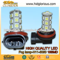 H11-5050-18SMD тонкий яркий белый системы освещения дневного движения ходовые огни DRL противотуманные фонари