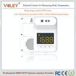 La alta temperatura sin contacto exterior interior Thermodetector frente Termómetros infrarrojos termómetros del cuerpo humano Tester