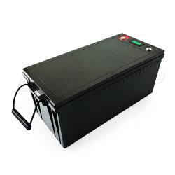 LFPO4 Accu للبطارية Lithium Ion بقدرة 12 فولت وبقوة 200 أمبير في الساعة