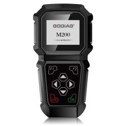 Godiag M200 Chrysler/apparecchio manuale del professionista di registrazione dell'odometro Obdii della jeep