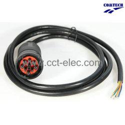 Deutsch SAE J1939 pour ouvrir le câble de connecteur