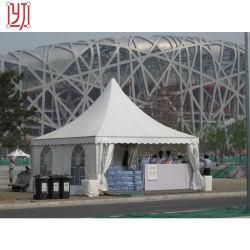 10m x 10m 100の人の広州の販売の党のための贅沢な玄関ひさし教会イベントのテントのアルミ合金の構造
