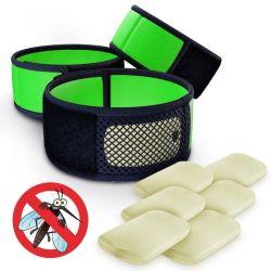 Recharge de citronnelle naturelles Anti Moustiques bande tricotés