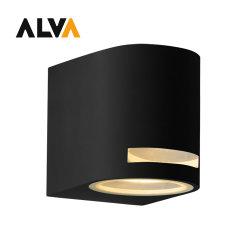 1*GU10 المصباح لأعلى أو لأسفل مصابيح LED الخارجية على الحائط
