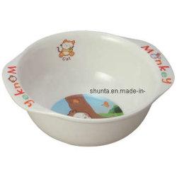 """Ciotola 100% di riso del capretto di serie """"di Bigi"""" della melammina /Giftware per gli articoli per la tavola dei bambini (BG2002)"""