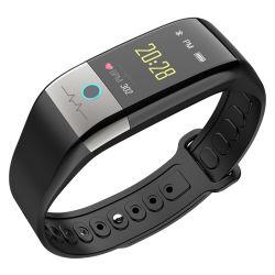 O Desporto Fitness à prova de banda sem fio de Silicone Vibrando Cronómetro Bracelete inteligente