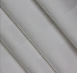 100%Cotton White Satin Stripe Bedding Fabric per Hotel From Cina