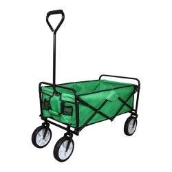 4 바퀴 70kg Foldable 외바퀴 손수레, 트롤리, 손수레 정원 공구