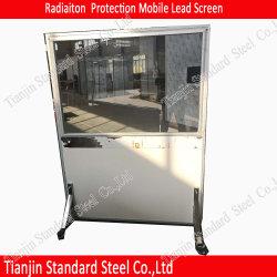 Schermo mobile del vetro al piombo 3mmpb di protezione dalle radiazioni per la stanza del raggio di X