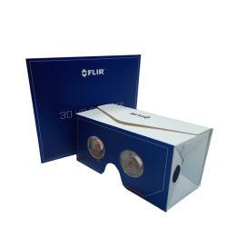 Enveloppe de pliage personnalisée Google lunettes 3D, le carton pliable verres vr
