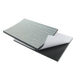 Gomma piuma ondulata del blocchetto del campione delle fette della La Espuma De Polietileno De Aislamiento Rollo del tetto materiale adiatermico XPE di prezzi