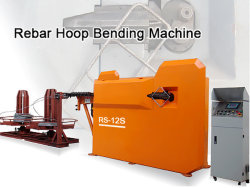 Hooping automático CNC máquina de doblado y corte de hormigón para la construcción de la barra de refuerzo de uso
