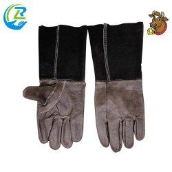 Barato al por mayor porosidad de guantes de cuero de piel transpirable