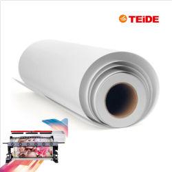 Eco solvente de impresión para inyección de tinta UV blanco no tejido de papel tapiz para la impresión digital