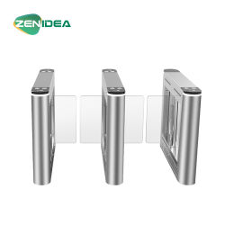 Caixa de aço inoxidável para pedestres Catraca Retrátil Barreira Swing Gate