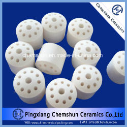 반토 촉매 담체 & 화학제품 패킹으로 세라믹 10개의 구멍 반지