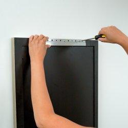 Z-Hanger Heavy Duty image miroir et le panneau en aluminium de crochet de suspension