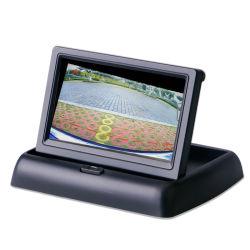 Retrovisione TFT dello specchio di retrovisione dell'affissione a cristalli liquidi del video 4.3 dell'automobile pieghevole del video