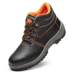酸のアルカリの抵抗作業靴のための高い切口の鋼鉄つま先