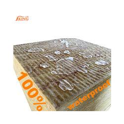 80kg/m3 Placa de Lã de Rocha ignifugação de isolamento