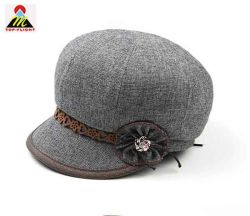 Tissu de laine Fashion femmes Chapeau de fête
