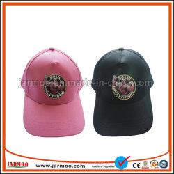 La coutume de haute qualité boucle en métal coloré Casquette de baseball brodée affligés de chapeaux Hat