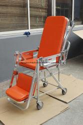 Cadeira dobrável de ambulância em maca para venda a quente
