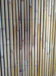 Naturel et de dépistage de bambou noir disponible pour le triage de clôture de bambou/Garden & Vie en plein air