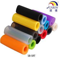 중국 제조 OEM 비독성 실리콘 호스, 의학 실리콘 관 고무관