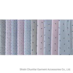 Tc textiles imprimés/CVC de filaments de polyester de 60 % 40 % de coton tricot chaîne pour la litière/vêtement/Cloth/Robe/chemise
