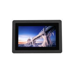 Industriële Rang Capacitieve Touchscreen van Visionable van het Zonlicht van 7 Neten van de Duim IP67 Waterdichte Openlucht 1000 Monitor