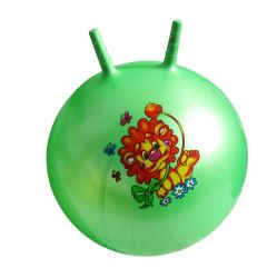 Venda a quente a bola saltar insuflável de PVC com ovelhas buzina para criança