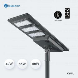 indicatore luminoso solare esterno tutto compreso Integrated del giardino della via di 40-80W LED
