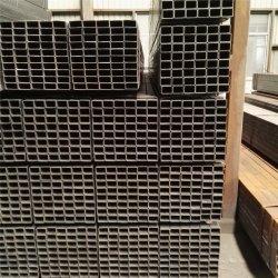Q235 ASTM A500 Gr. B kein gemeinsames Rohr kein Stahlstab-schwarzes Quadrat-Höhlung-Kapitel mit sauberem Ende