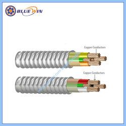 UL1569 Type Mc revêtues de métal et câble d'alimentation homologuée UL 600V Thhn Thwn-2 Xhw Xhhw-2