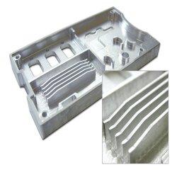 CNC-bewerking van aluminium filterholte