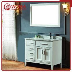 Womaアメリカデザインカシの浴室の虚栄心の純木のキャビネット(1001B)