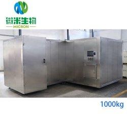 Le compostage des déchets alimentaires de la machine 1000kg