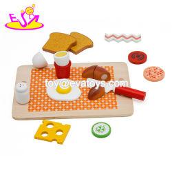Новые популярные претендует играть деревянная игрушка завтрак питание для детей W10b259