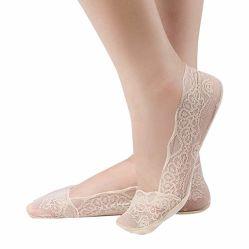 Kein Erscheinen trifft Frauen keine Erscheinen-Zwischenlage-Socken hart keine Erscheinen-Socken, die der Frauen dünn niedrig beiläufige Socken-Spitzen- Knospe-Silk Spitze-Baumwolle Esg10689 schneiden