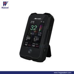 Nuevo producto de un6 Monitor de la calidad del aire con registrador de datos (PM2,5/PM10/Temperatura/humedad)