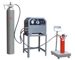 Le CO2 de l'extincteur Machine de remplissage / Machine de remplissage d'extincteur de CO2