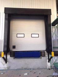 Industrielle Polyester-Gewebe Mechanisch Einziehbare Zusammenklappbare Schwamm Aufblasbare Ladeschacht Dock Seal Dock Shelter für Lager oder Kühllager