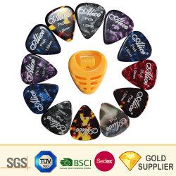 Qualitäts-heißes verkaufendes buntes kundenspezifisches personifiziertes bernsteinfarbiges Farben-Nylon/elektrische/hölzerne/Edelstahl-Zelluloidukulele-Gitarren-Auswahl mit Soem-Marke
