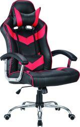 製造業者または工場旋回装置の上昇PUのArmrestが付いている椅子を競争させる革オフィス・コンピュータのゲームか競争の賭博