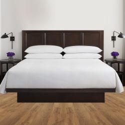 China-Fabrik liefern Baumwollpreiswerteres Hotel-Bettwäsche-Set 100%