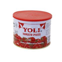 Het ingeblikte Merk van Iran Yoli van het Concentraat van de Tomatenpuree