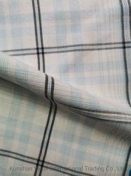 カスタム高品質および競争価格の衣服(シックなスーツ、ワイシャツ、ジャケット、等)のためのレーヨンポリエステルによって織り交ぜられる反応染められたファブリック