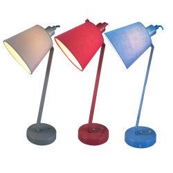 IP20 Lampe de table moderne Adjsutable Bleu Lampe de bureau pour Office